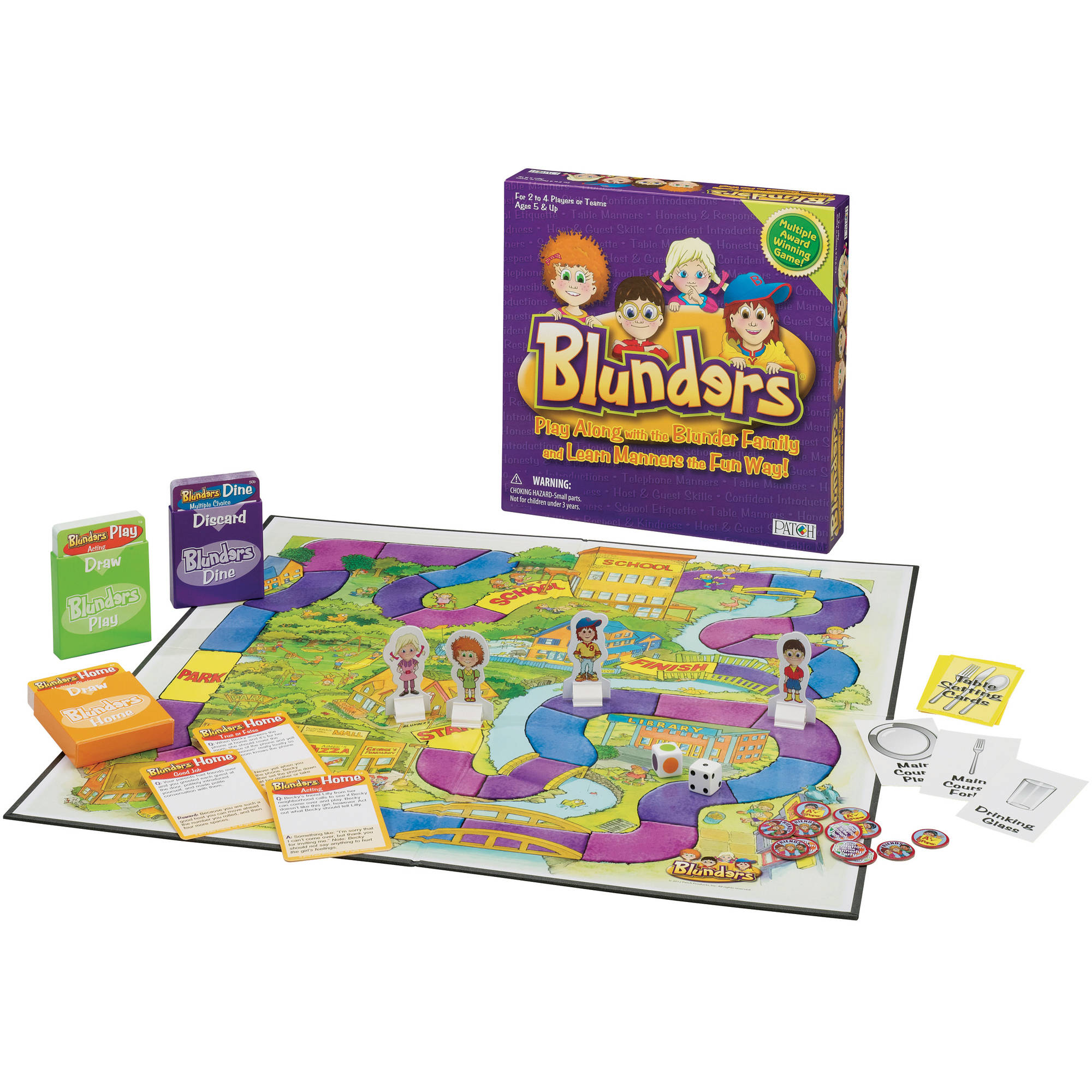 PATCH Blunders Board Game