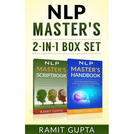 NLP Master's **2-in-1** BOX SET: 24 NLP Scripts & 21 NLP Mind Control Techniques That Will Change Your Life Forever - - Minds Boa