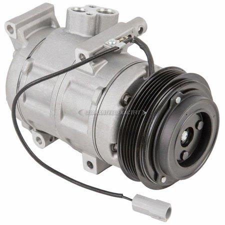 AC Compressor & A/C Clutch For Mazda 3 Sport & 3 2010 2011 (Sport Muscle Clutch)