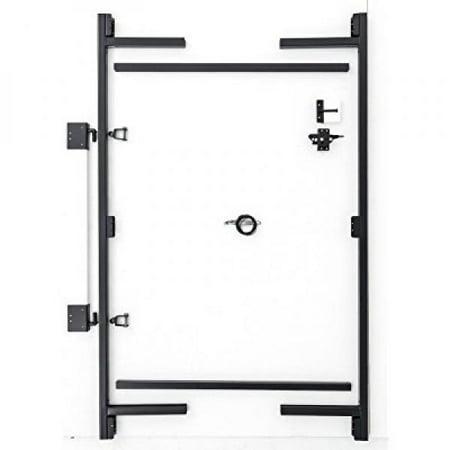 Adjust-A-Gate AG36-3, 3-Rail, 60 H x 36 - 60 W, Steel Frame Anti-Sag ...