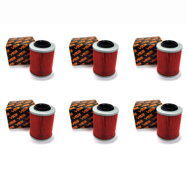 2009-2016 CAN AM Outlander Max 800R EFI Oil Filter - (6 pieces)