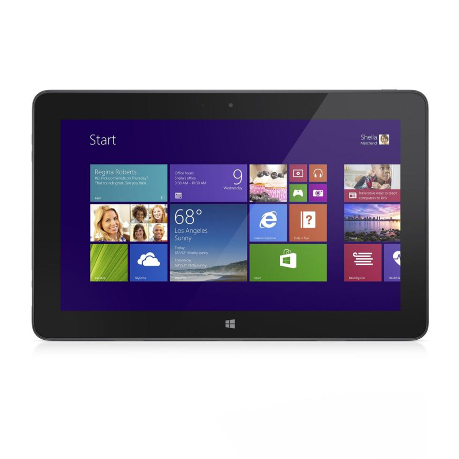 Refurbished Dell Venue 11 Pro Intel i5-4300Y 128GB 10.8-Inch Touchscreen Tablet - Black