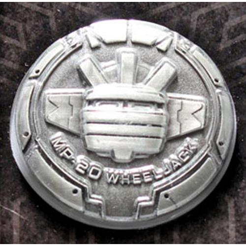 Transformers Masterpiece MP-20 Wheeljack Collector Coin