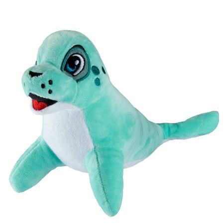 Fin Fun Fergus the Seal Plush Toy - Mermaid Fin Friend Stuffed Animal](Stuffed Seal)