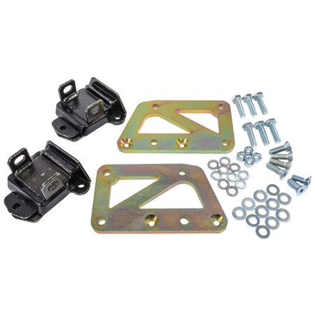 - JEGS 50528 Chassis Swap Kit GM LS Engine to Small Block Chevy Chassis Includes: