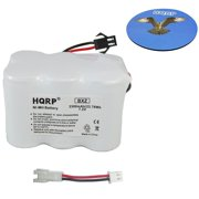 HQRP Battery for Birdog USB Satellite Finder Meter 2.5 / 3 / 4 Bir-Dog BP7233-2 USB Plus BIRDOGUSBPLUS plus HQRP Coaster