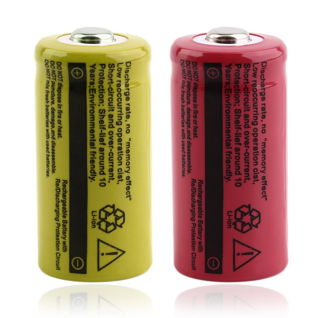 Low Reoccuring Operation Cist No Memory Effect 37v 2500mah Tr16340 Short Circuit Disassemble Li Ion Rechargeable Battery For Led Flashlight On Sale