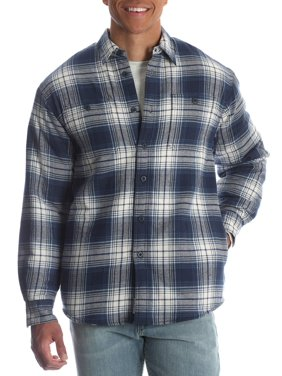 941b40f61b4 Product Image Men s and Men s Big Sherpa Lined Flannel Shirt