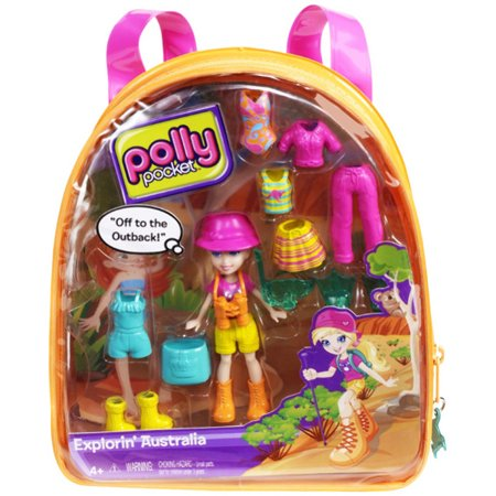 Mattel Polly Pocket Explorin' Australia