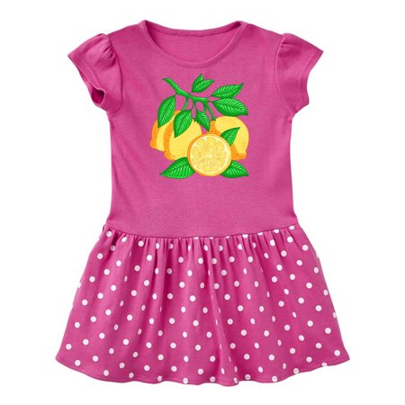 I Love Lemons with Lemon Tree Branch Illustration Infant