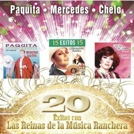 20 Exitos Con Las Reinas De La Musica Ranchera (Musica De Fondo De Halloween)