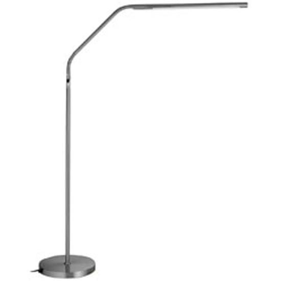 Daylight Slimline LED Floor Lamp-Brushed Chrome FOB: MI ...
