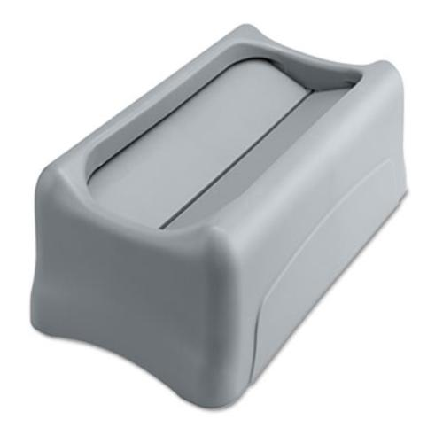 Rubbermaid 267360GY Swing Lid For Slim Jim Waste Containe...