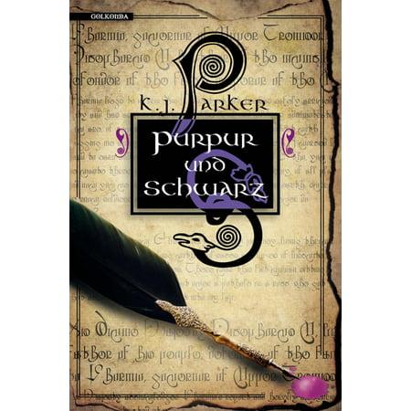 Purpur und Schwarz - eBook (Schwarz Karen Millen)