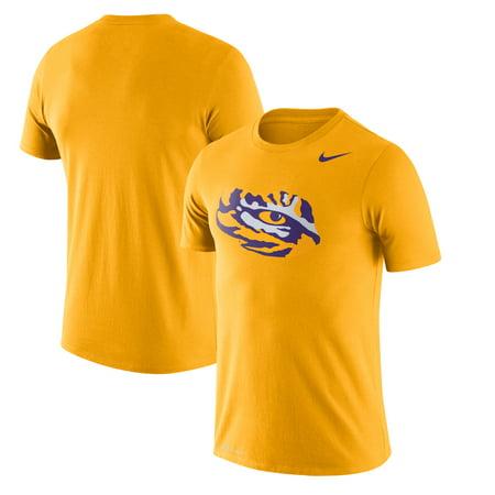 Nike Soccer Footwear (LSU Tigers Nike Legend Logo Performance T-Shirt - Gold )
