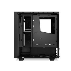 NZXT Case CA-S340W-B1 S340 ATX Mid Tower No Power Supply 0/0/(3) Bay USB Black No LED Black Interior windows