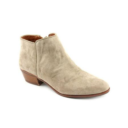 sam edelman petty women  round toe suede gray bootie (Edelman Petty)