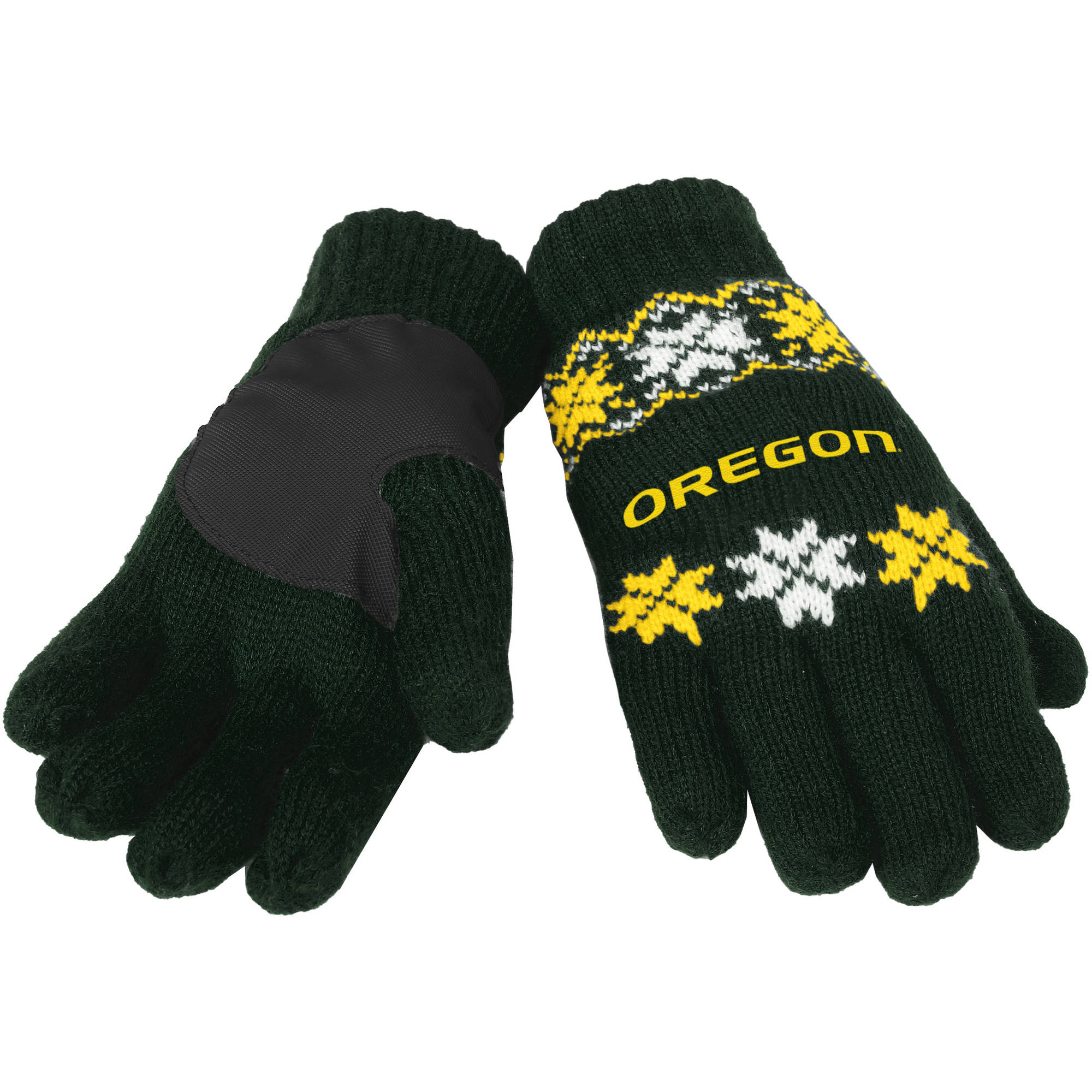 NCAA Forever Collectibles Lodge Gloves, University of Oregon Ducks by Overstock