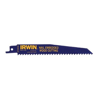 "Irwin 9"" Reciprocating Saw Blade 6 Tpi (25 Pack)"