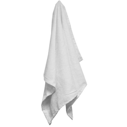 Bulk Buys 16x25 100 percent Cotton White Velour Hemmed Hand Towel Towel - Case of 180