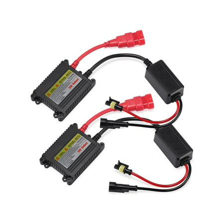 2 Pcs DC Digital 12V 35W Replacement Ballast Car Auto HID Xenon Headlight Lamps Kit with (The Best Hid Kit)