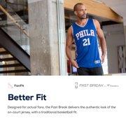 7343ce55b Ben Simmons Philadelphia 76ers Fanatics Branded Fast Break Replica Jersey  Royal - Icon Edition Image 4