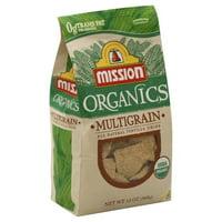 Mission Foods Mission Organics Tortilla Chips, 13 oz