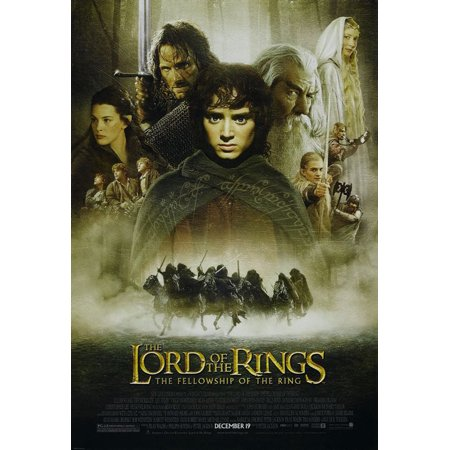 The Lord Of The Rings - The Fellowship Of The Ring - Movie Poster / Print (Regular Style) (Size: 27
