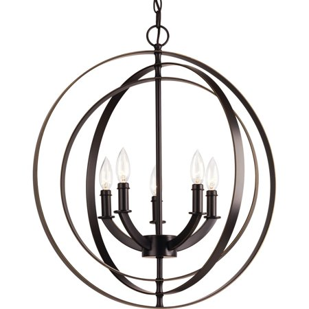 Equinox Collection Five-Light Chandelier
