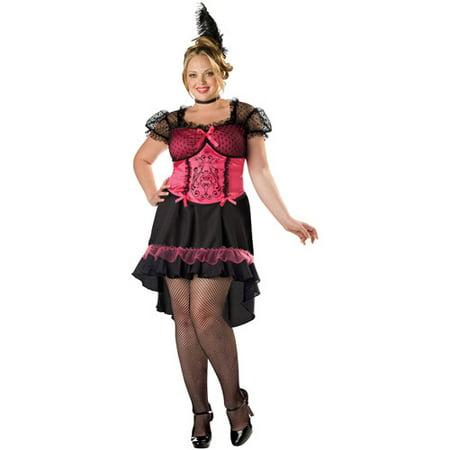 Saloon Gal Adult Halloween Costume (Mens Saloon Costume)