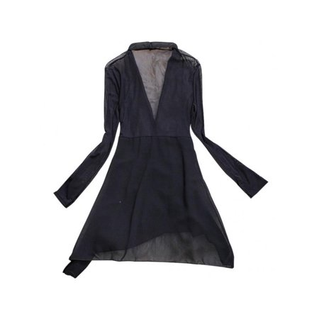 Topumt Women Boho Floral Chiffon Cardigan Coat Sunscreen Beach Dress ()