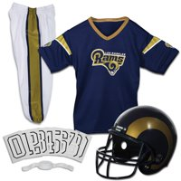 Los Angeles Rams Franklin Sports Youth Deluxe Uniform Set