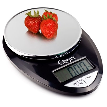 Ozeri ZK12 Pro Digital Kitchen Food Scale, 0.05 oz to 12 lbs (1 gram to 5.4 kg)