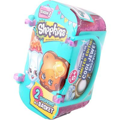 Shopkins Season 3 (2-Pack & Basket) (Buy Shopkins)