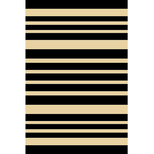 "Home Dynamix Royalty Collection Area Rug, Black, 31"" x 50"""