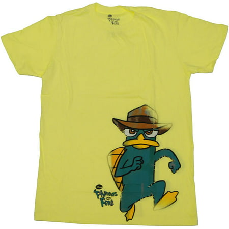 Phineas and Ferb Run T Shirt Sheer](Phines And Ferb)