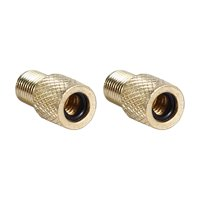 Greensen 10pcs Bicycle Brass Adapters Tube Pump Connector Valve Converter Pump Tools Tire Inflator