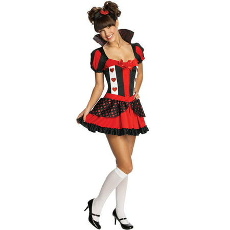 Playful Queen of Hearts Tween Costume