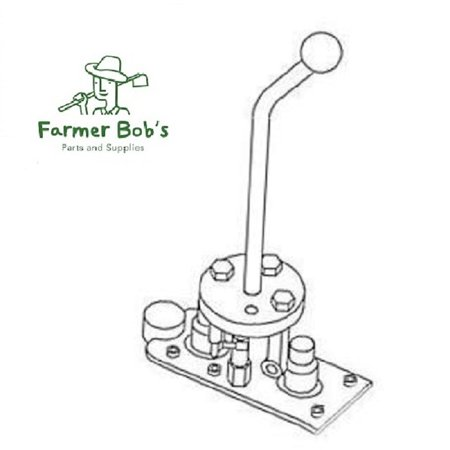 Joystick Kit For SBA & SS Series Hydraulic Valves Cross Mfg 1V1485-02  Farmer Bob's Parts 1V148502