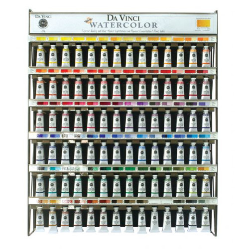Da Vinci Paints 37 ml Watercolors Paint Display