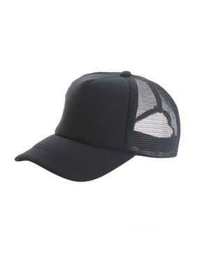 Adjustable Child Solid Hats Trucker Kids Sun Hats Classic Cap Summer for New Casual Mesh Baseball