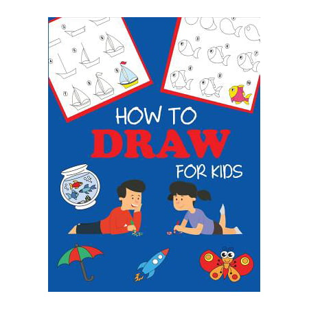 How to Draw for Kids : Learn to Draw Step by Step, Easy and Fun (How Do You Draw A Halloween Bat)