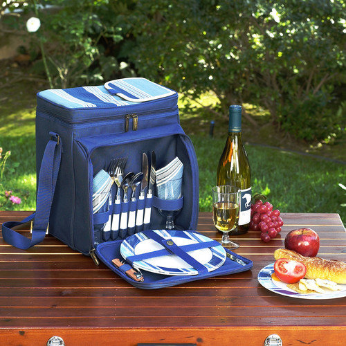Picnic At Ascot Aegean Picnic Cooler for Two
