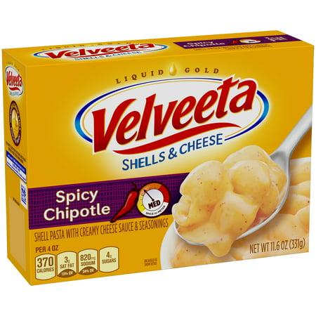 Velveeta Spicy Chipotle Shells & Cheese, 11.6 oz