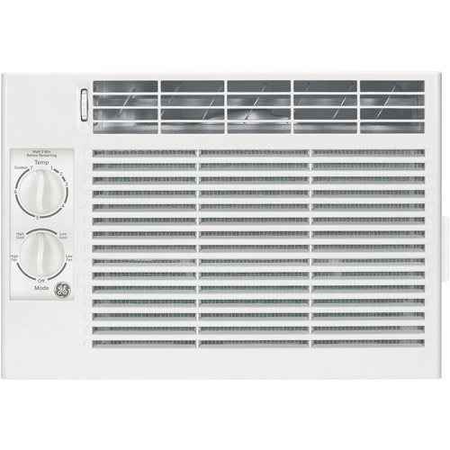 General Electric AEY05LT 5,050-BTU Mechanical Window Air Conditioner, White