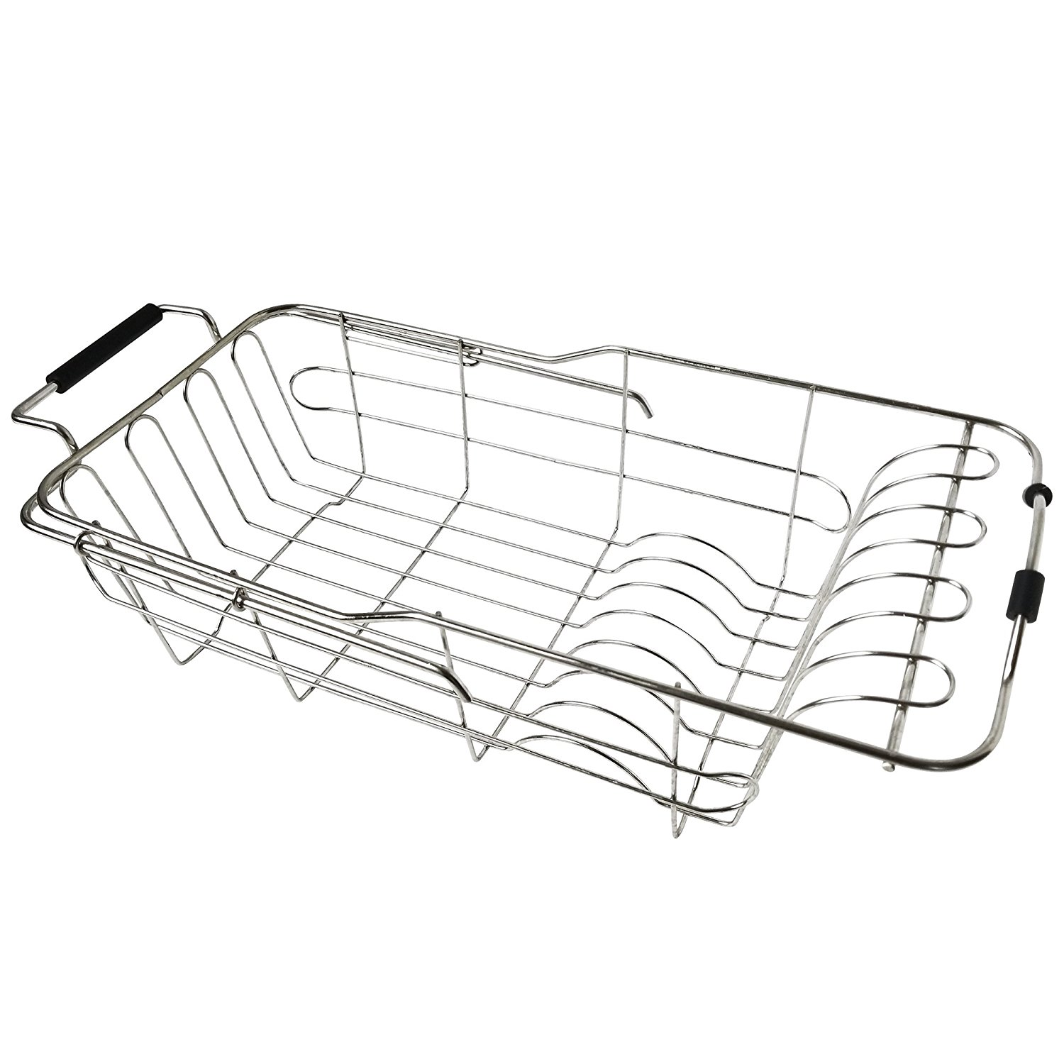 Dish Drying Rack Drainer By JHJ Homegoods In Sink Stainle...