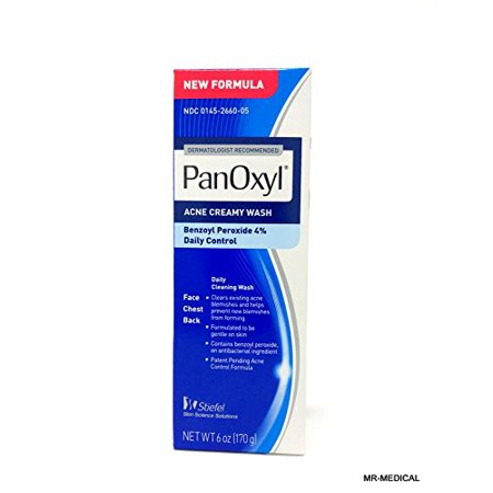 Facial Wash with Benzoyl Peroxide Best for Acne Prone Skin Pack of 2 by
