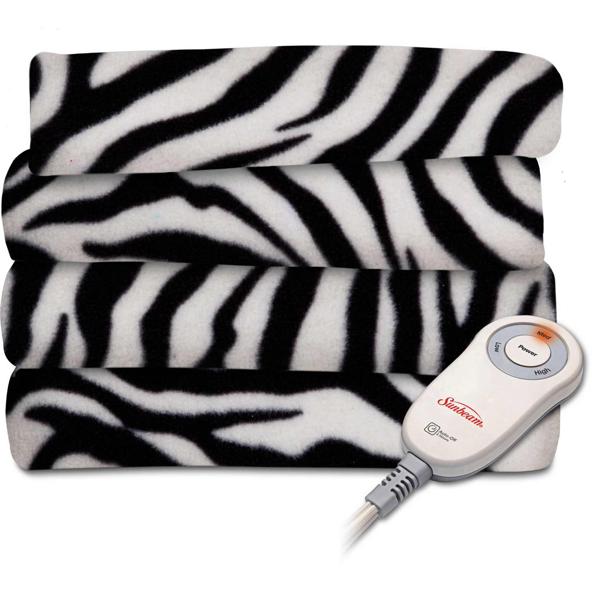 Sunbeam Heated Fleece Electric Throw