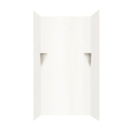Swanstone Three Panel Shower Wall Kit (Fiberglass Swanstone Shower)