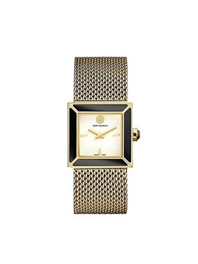 fed5f34de4f Product Image Tory Burch Ladies Sawyer 25mm Gold-tone Watch with Mesh Band  TRB5100